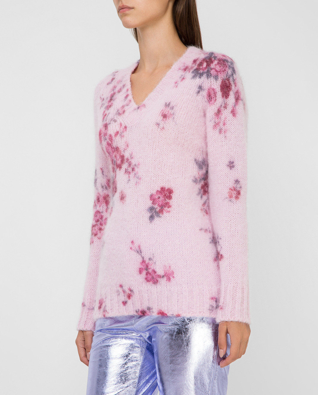 Philosophy di Lorenzo Serafini Розовый пуловер изображение 3