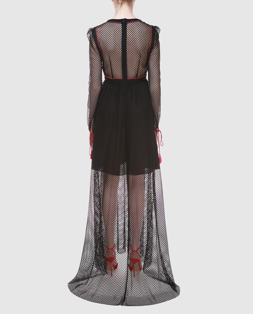 Philosophy di Lorenzo Serafini Черное платье A0441 изображение 4