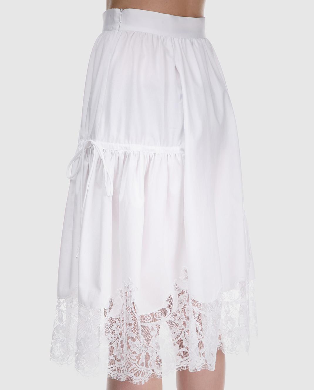 Ermanno Scervino Белая юбка D322O317MSC изображение 4