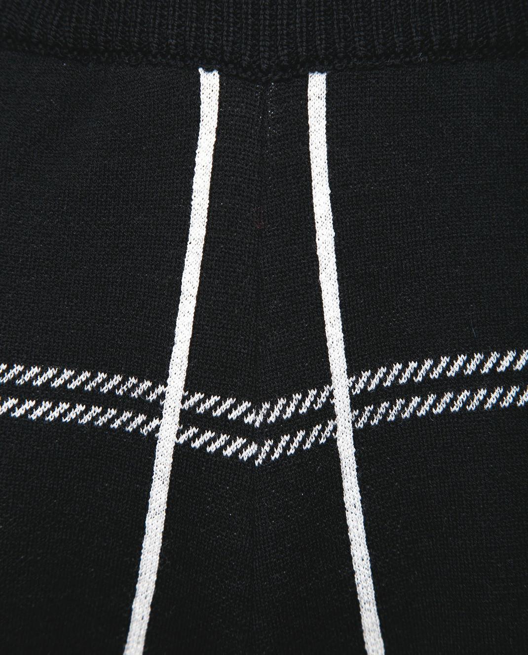 Chloe Черные брюки из шерсти 18SMT01540 изображение 5