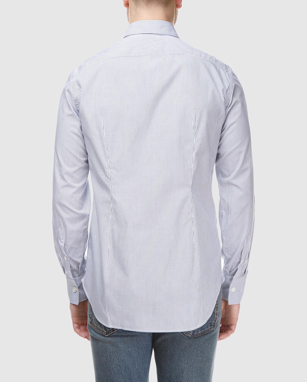 Eleventy Голубая рубашка 979CA0001CAM24003 изображение 4