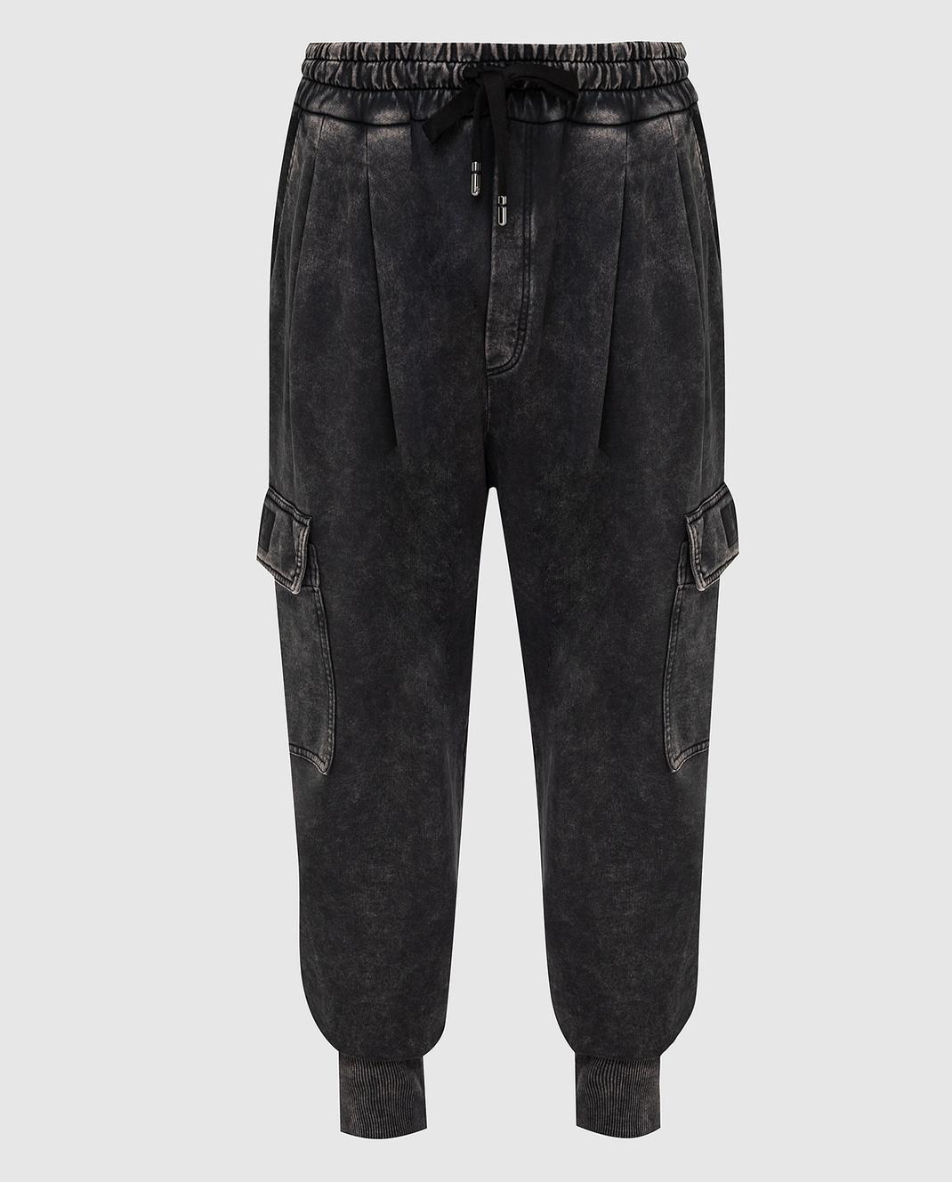 Dolce&Gabbana Темно-серые карго изображение 1