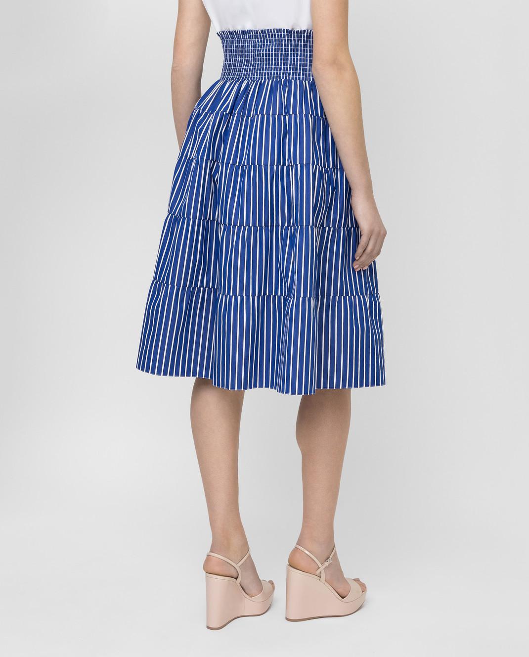 Prada Синяя юбка P149QR1VWT изображение 4