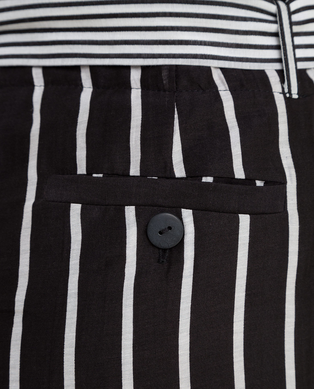 Twin Set Черные брюки TS82ZN изображение 5