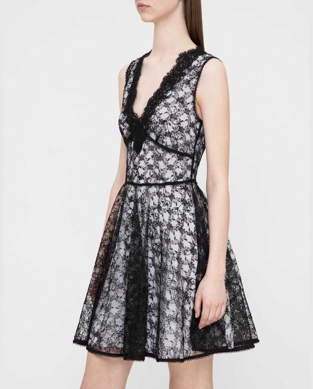 Ermanno Черное платье из кружева AB36 изображение 3