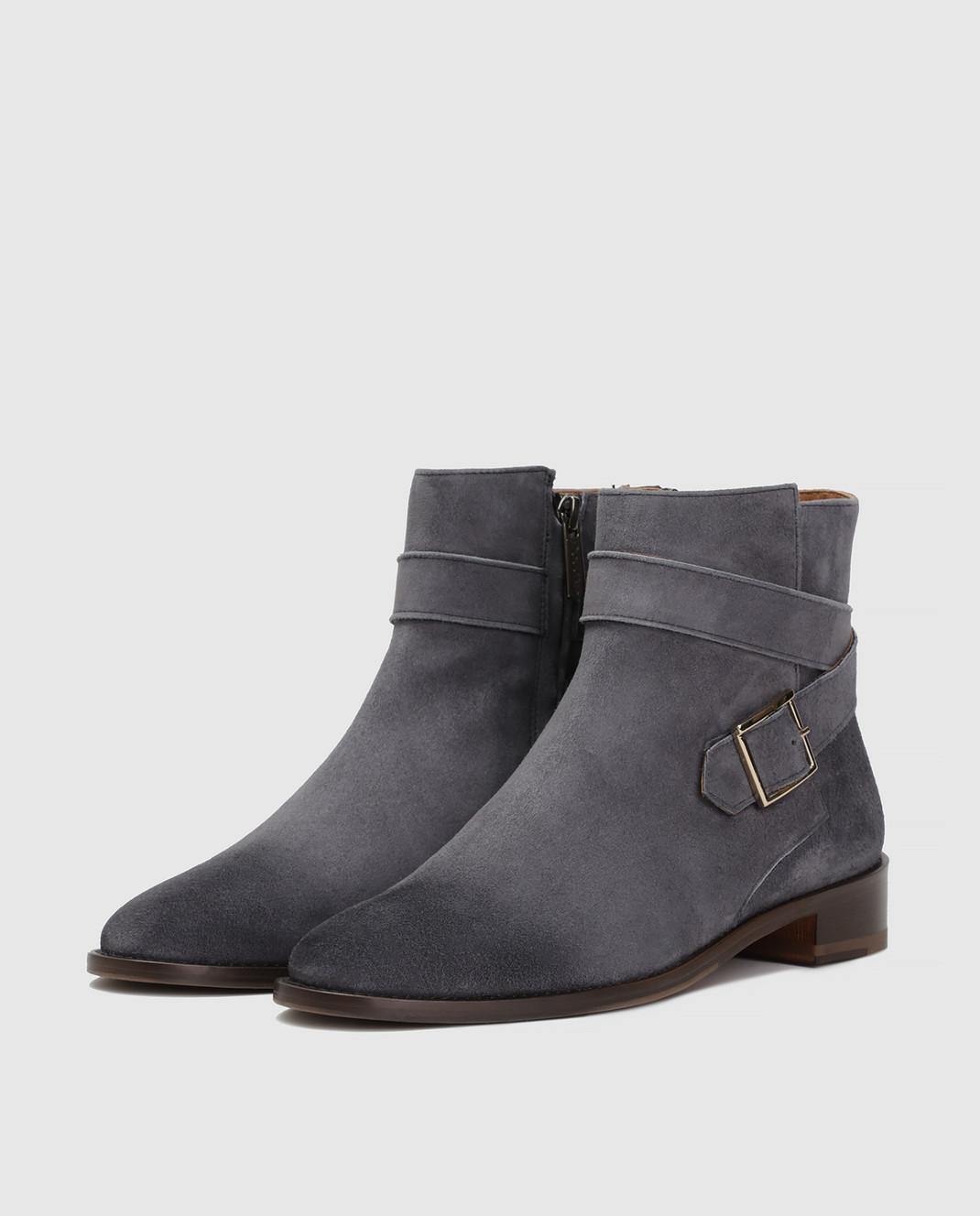 Doucal's Серые замшевые ботинки DD8252PATCUF083 изображение 3