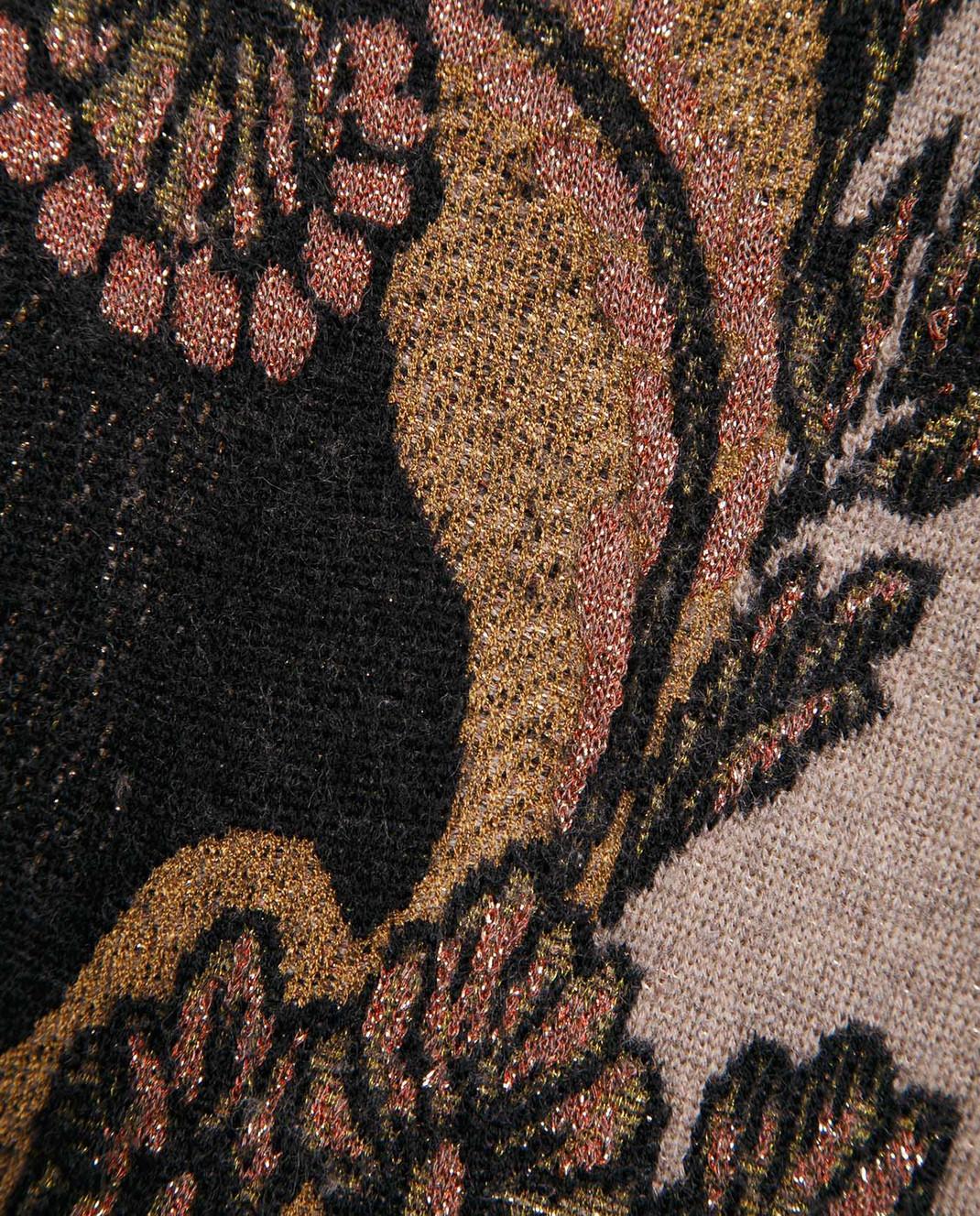 Etro Коричневый свитер из шерсти D156239303 изображение 5