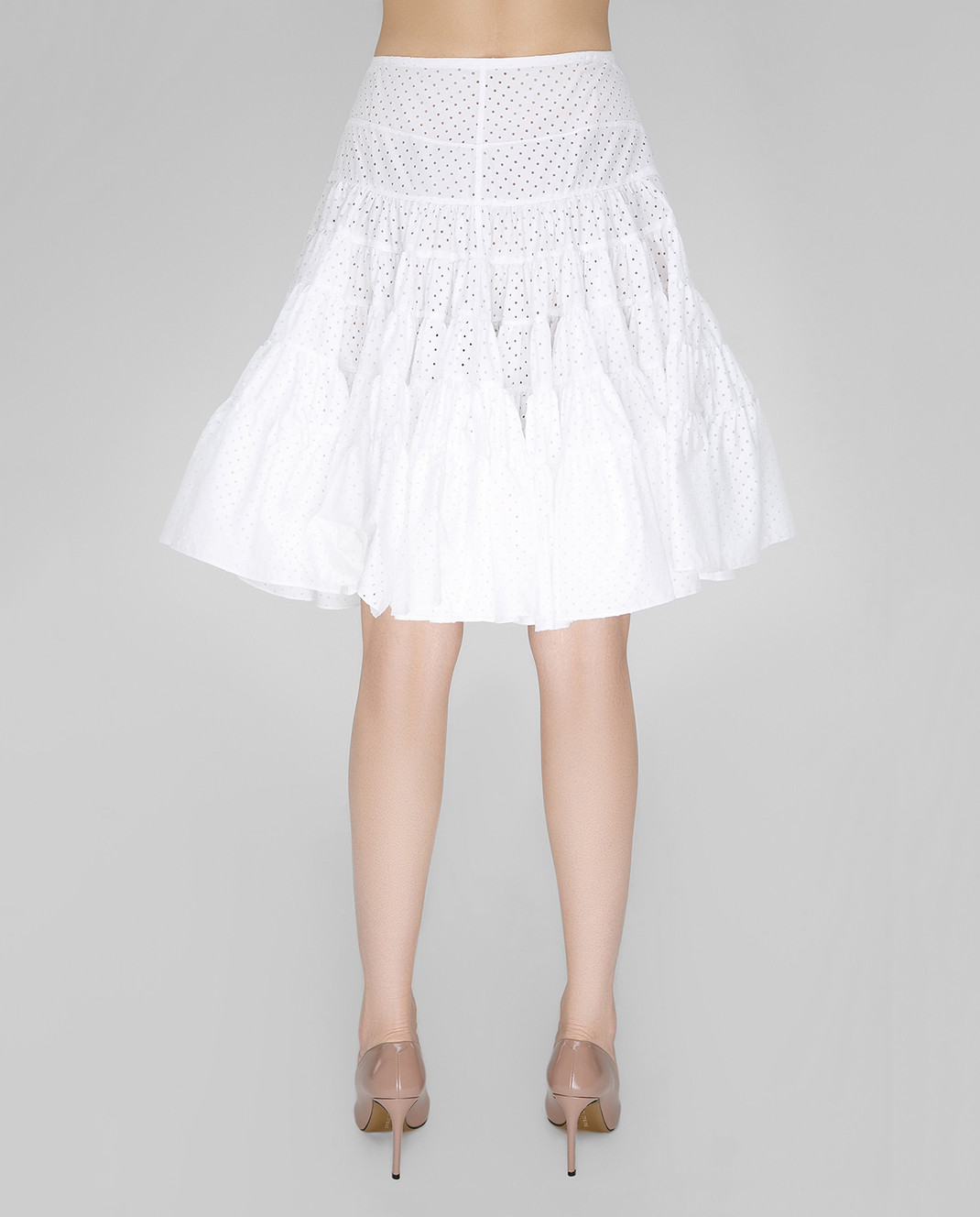 Azzedine Alaia Белая юбка 7S9J144RTL48 изображение 4