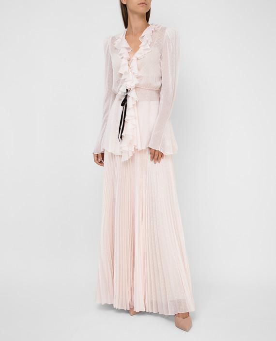 Светло-розовая юбка hover