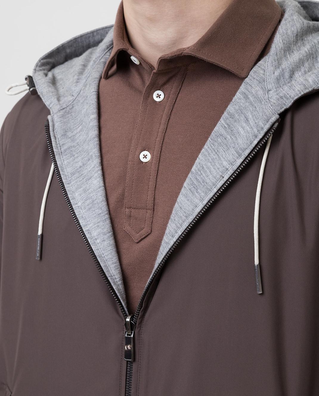 Ermenegildo Zegna Двухстороння куртка UST33S111B изображение 5