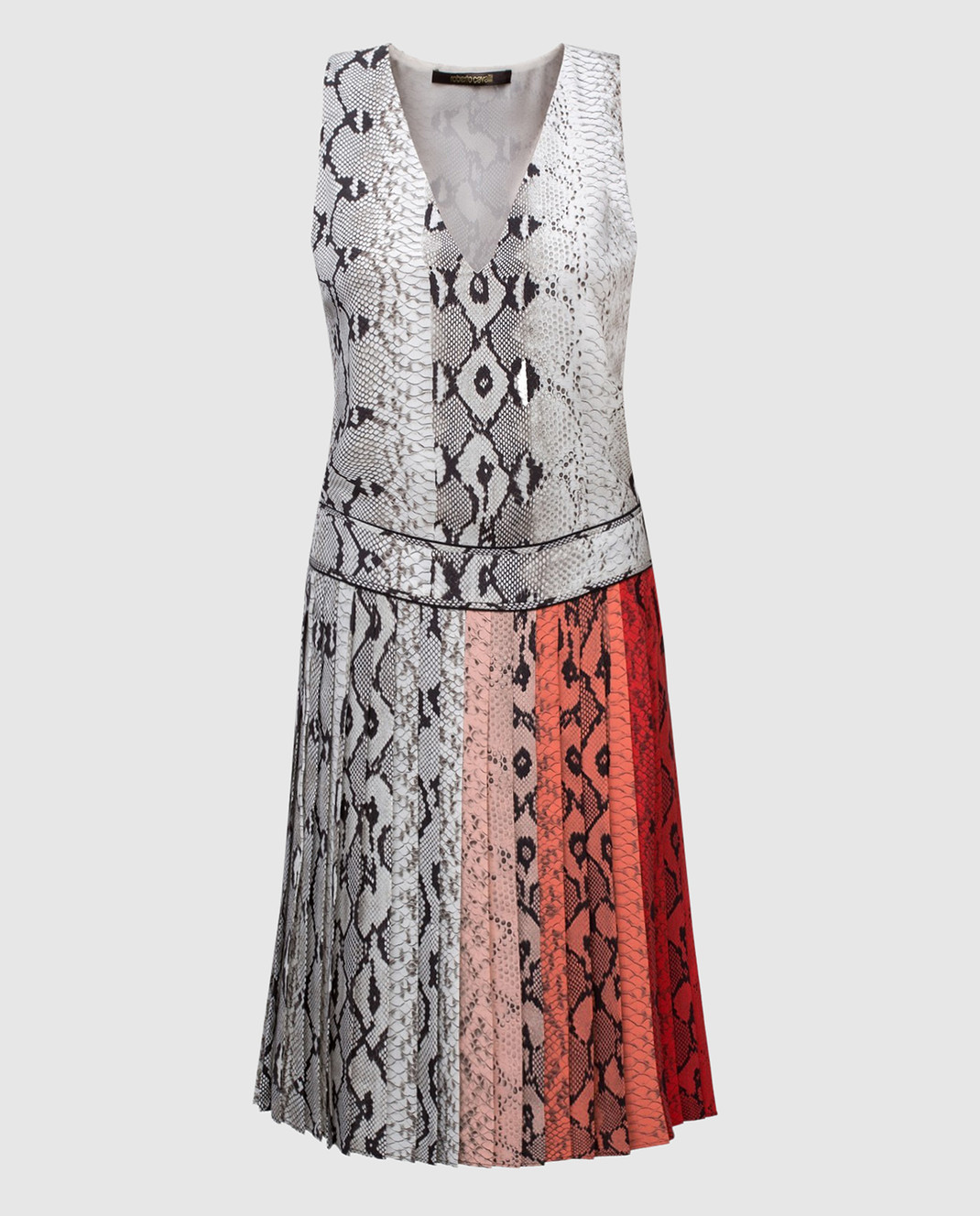 Roberto Cavalli Платье из шелка AKT172