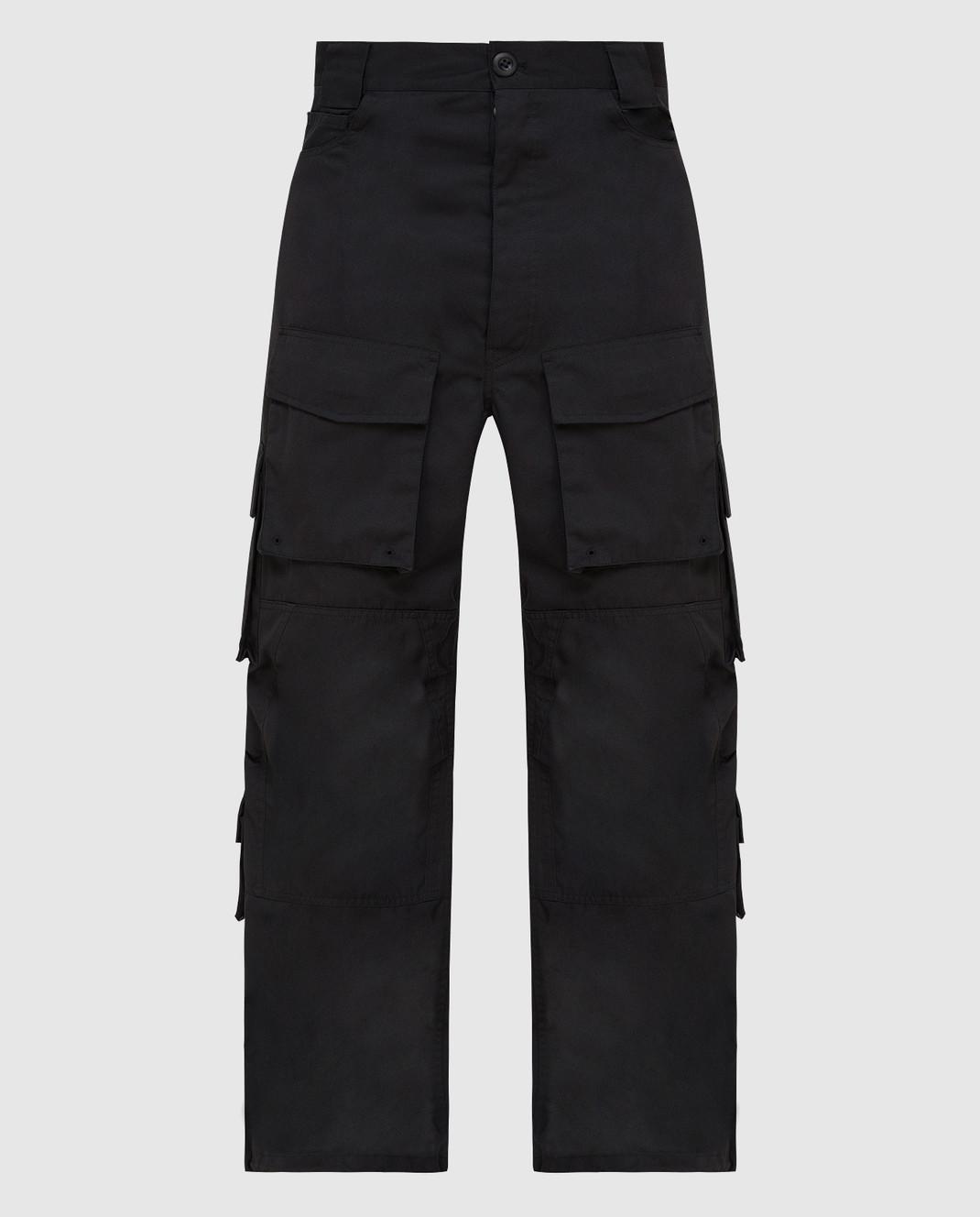 Balenciaga Черные брюки изображение 1