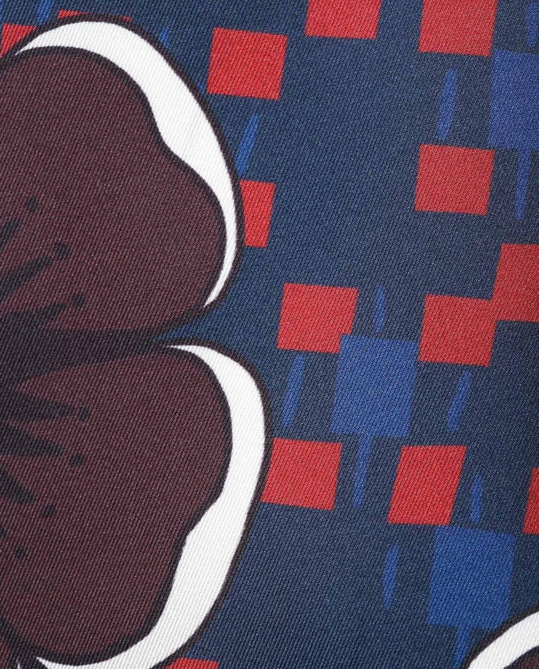 PAROSH Темно-синяя блуза D310375 изображение 5