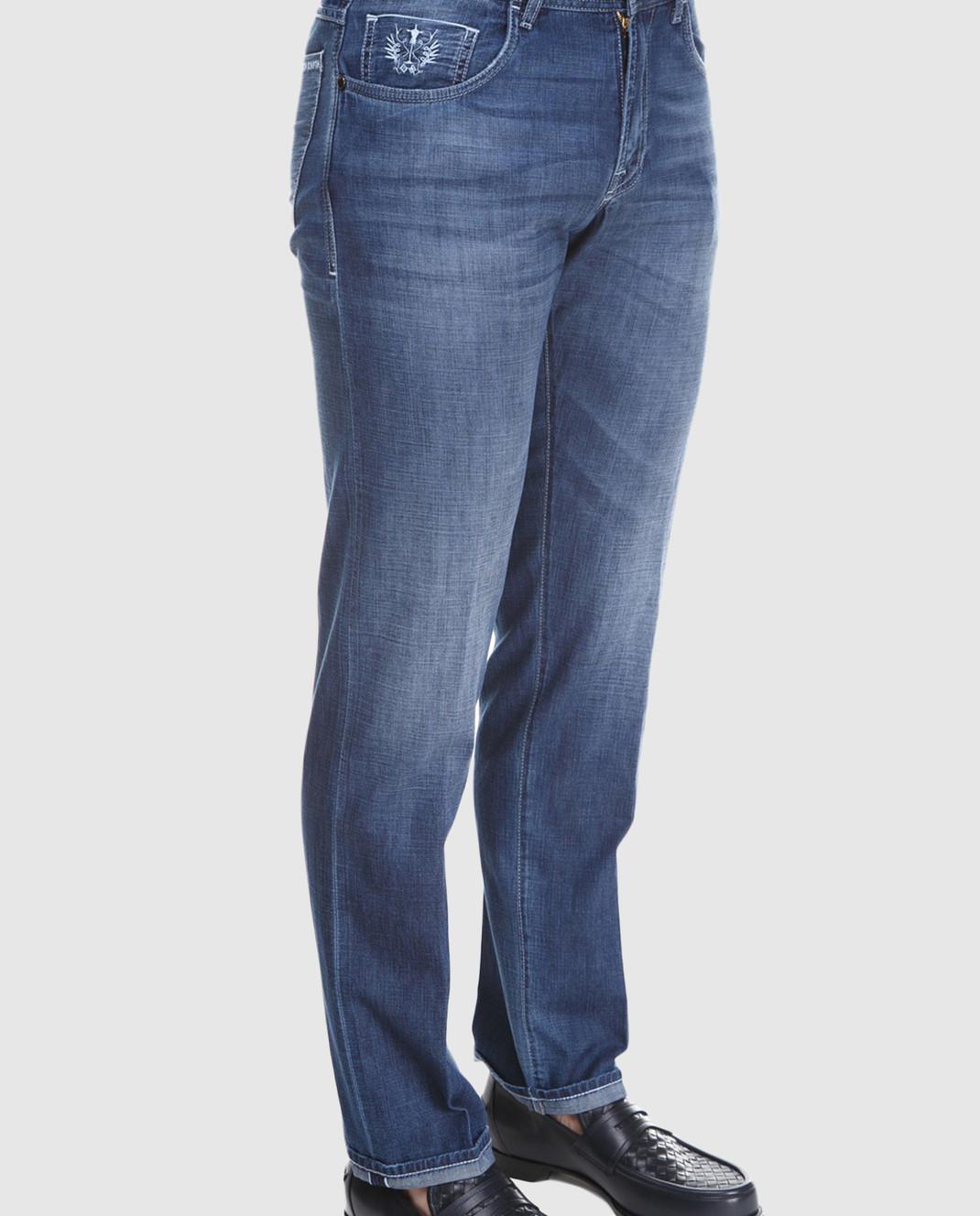 Scissor Scriptor Синие джинсы TIBERIOT68 изображение 3