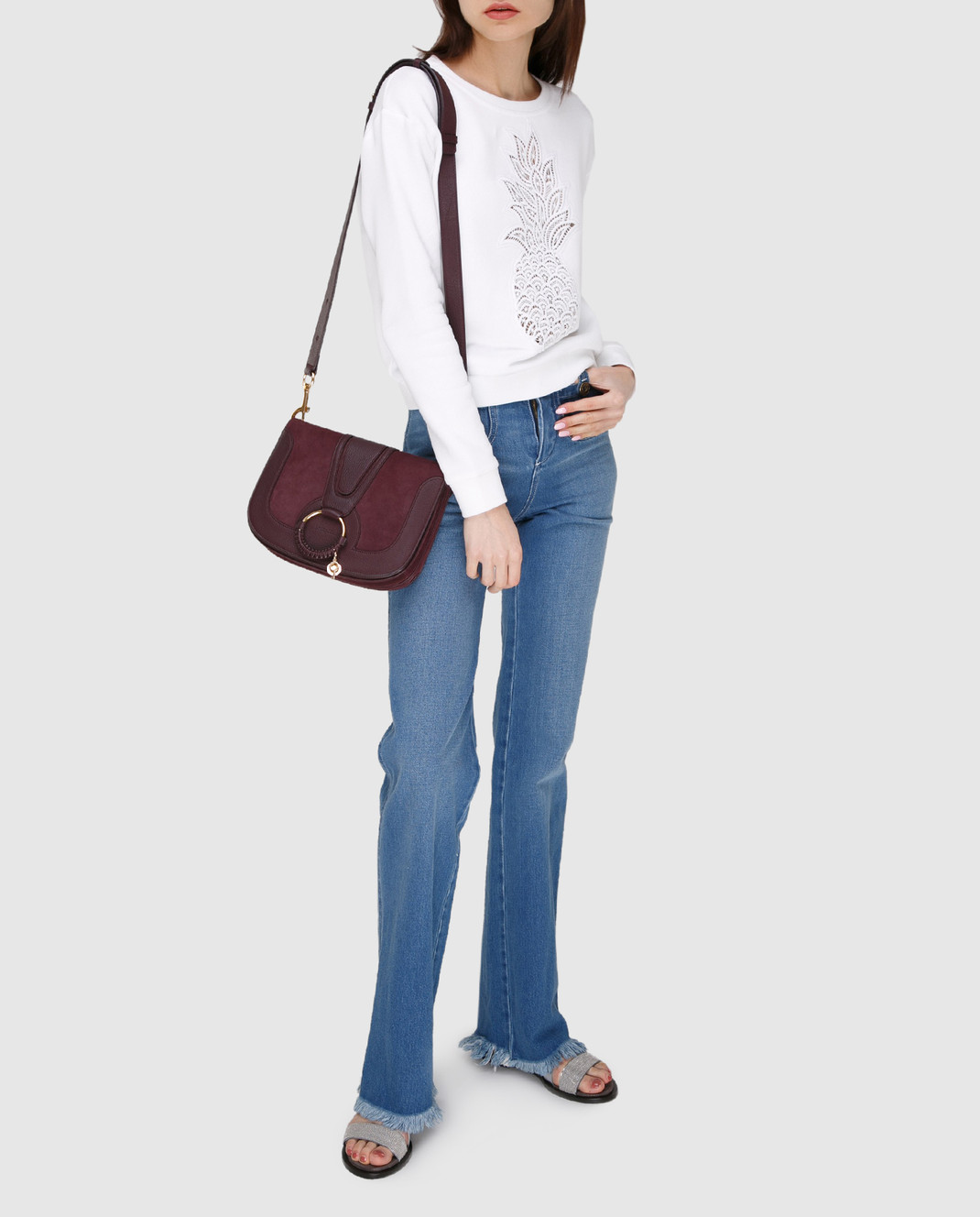Chloe Голубые джинсы изображение 2