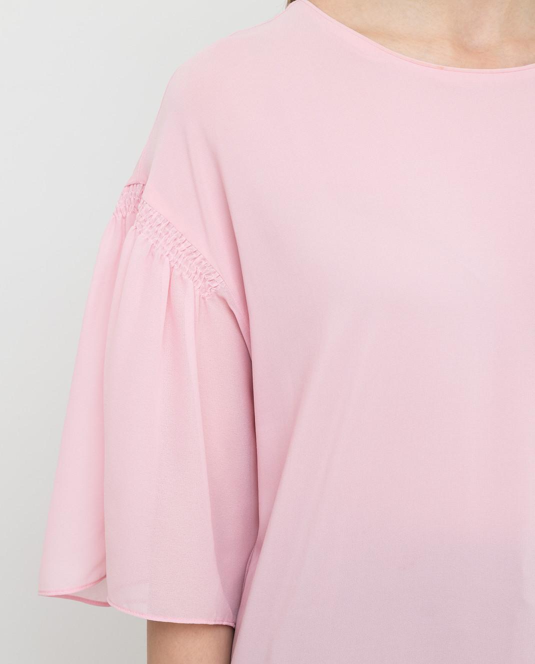 Pinko Розовая блуза 1B11QP изображение 5