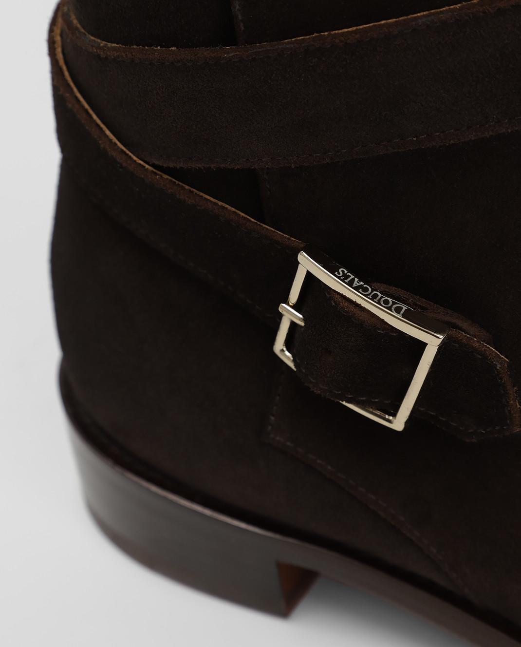 Doucal's Коричневые замшевые ботинки DD8252PATCUF083 изображение 5