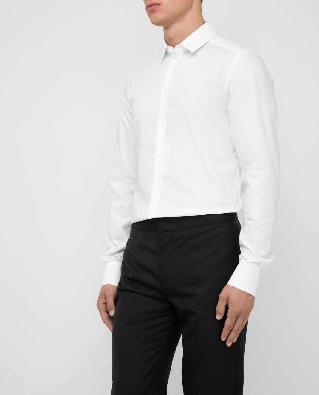 Dolce&Gabbana Белая рубашка изображение 3