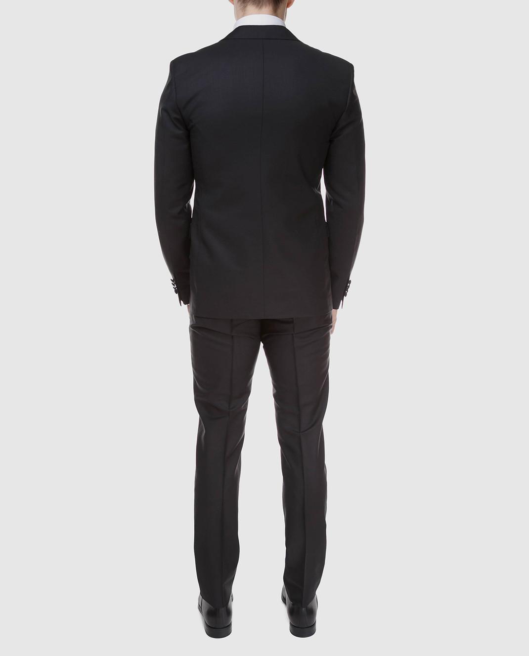 Prada Черный костюм из мохера и шерсти UAF4201KNB изображение 4
