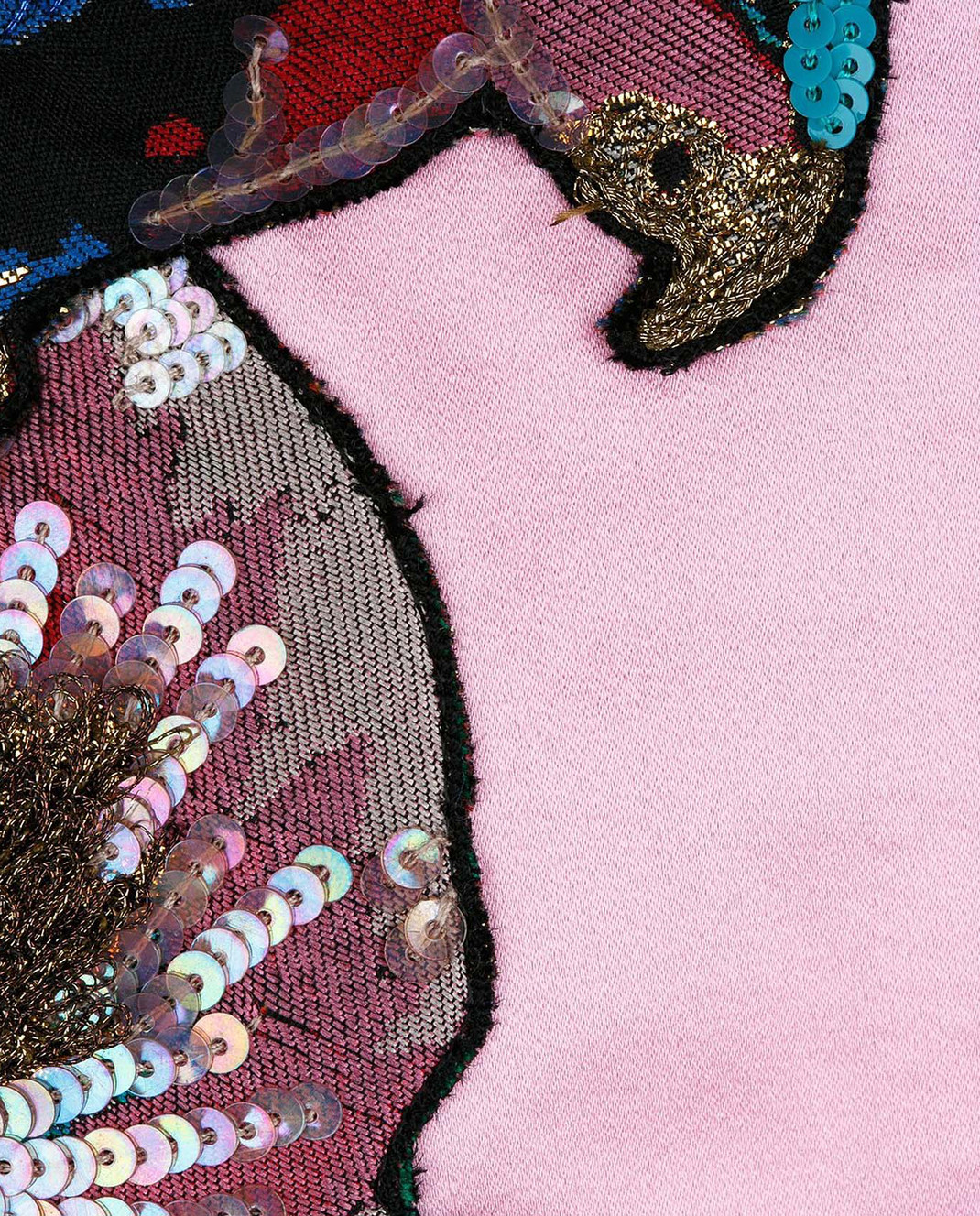 Valentino Розовый бомбер из шелка MBCCI0150HM изображение 5
