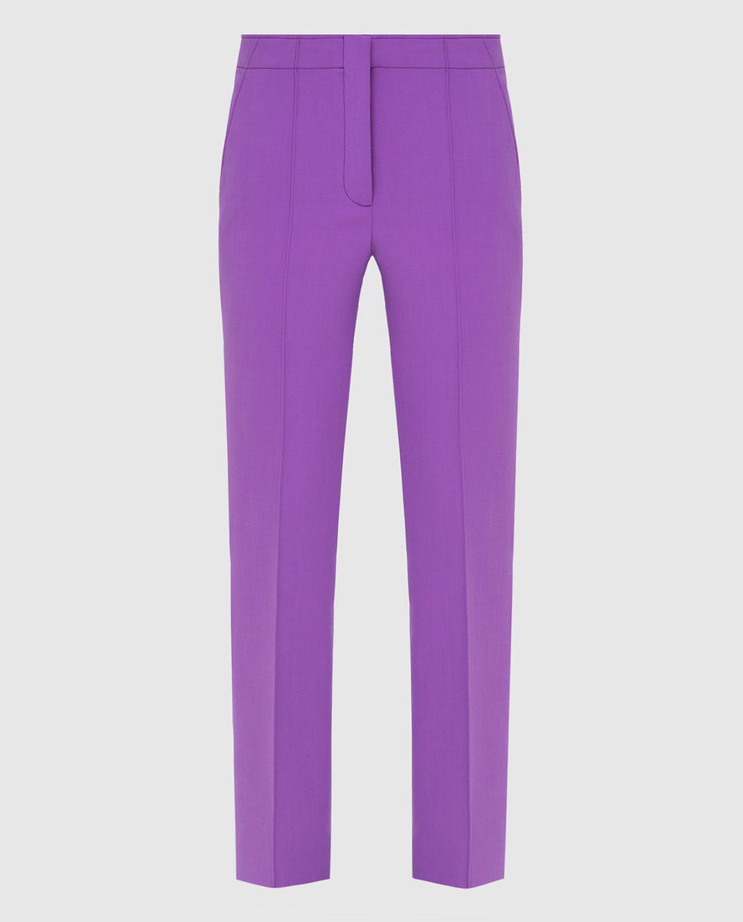 Victoria by Victoria Beckham Фиолетовые брюки TRVV101