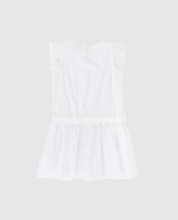 Детское белое платье hover