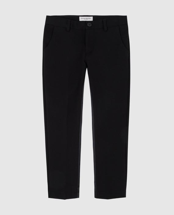 Детские черные брюки