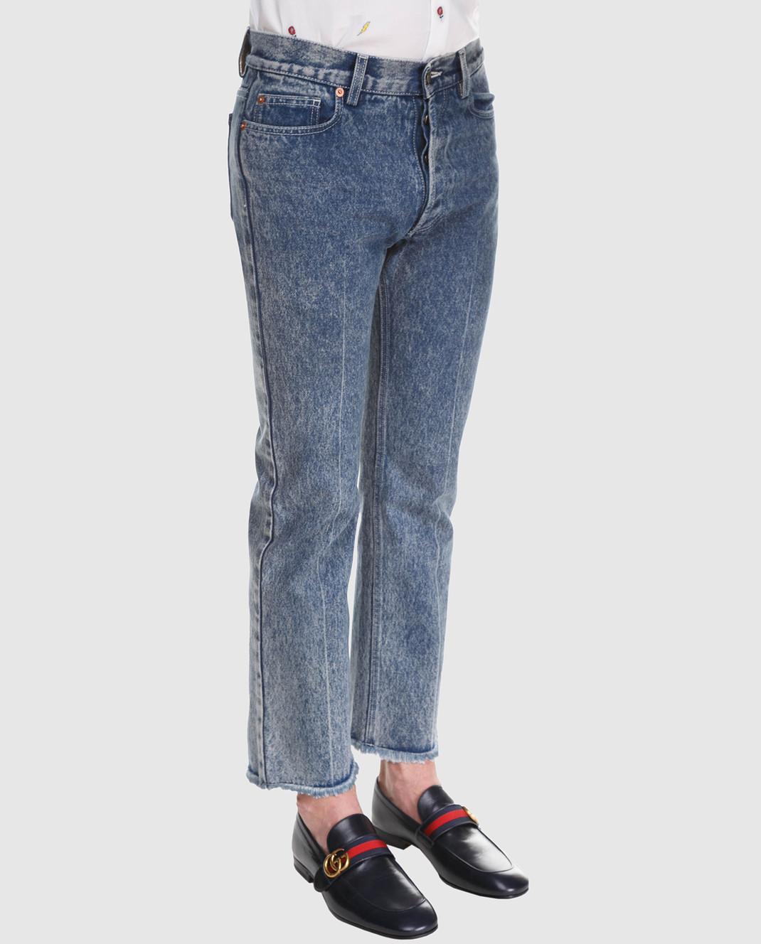 Gucci Синие джинсы 524365 изображение 2