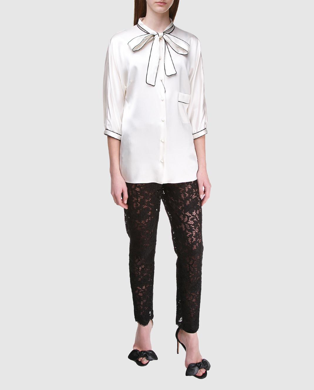 Dolce&Gabbana Черные брюки FTAZATHLMCL изображение 2
