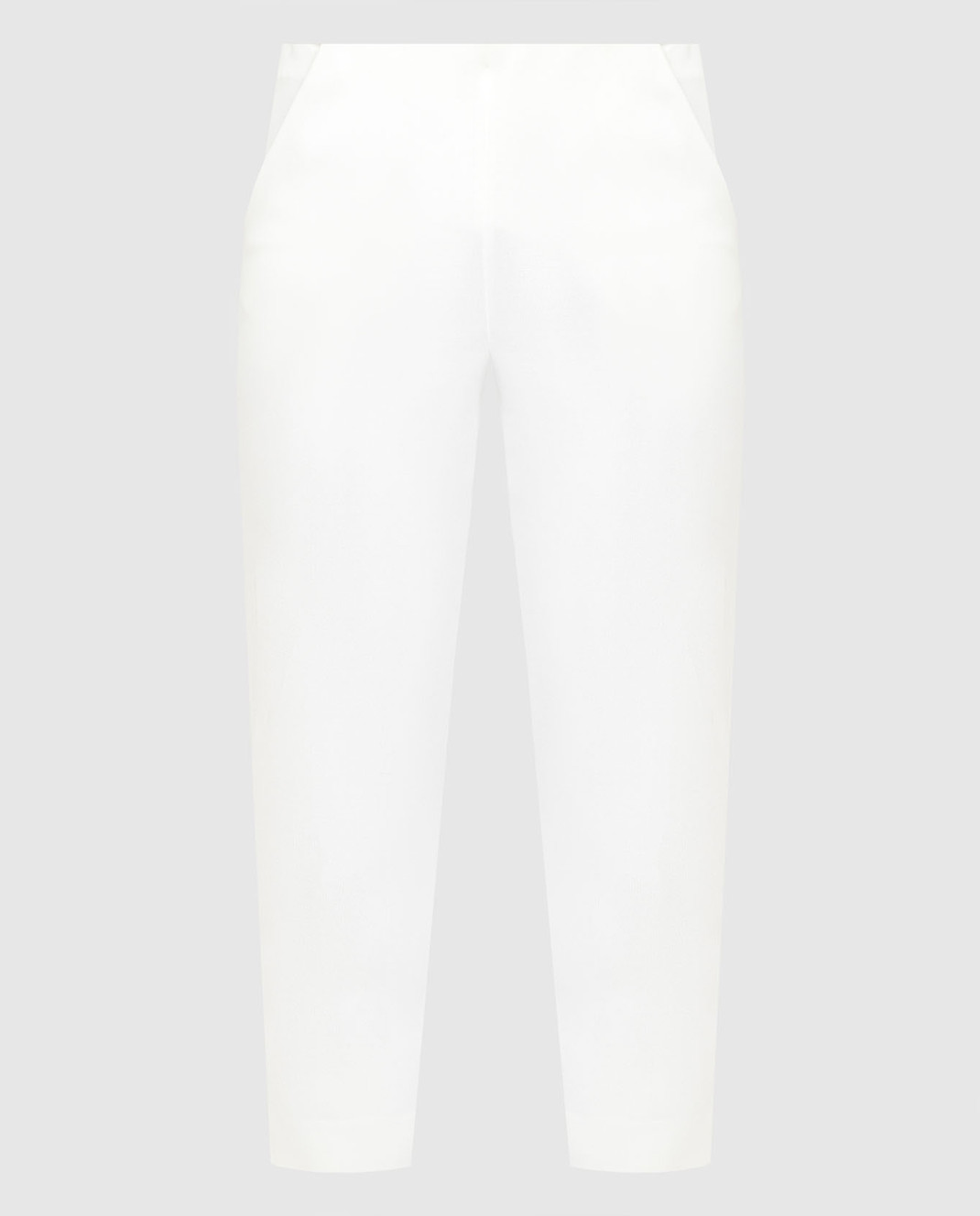 Armani Белые брюки 3XAP53