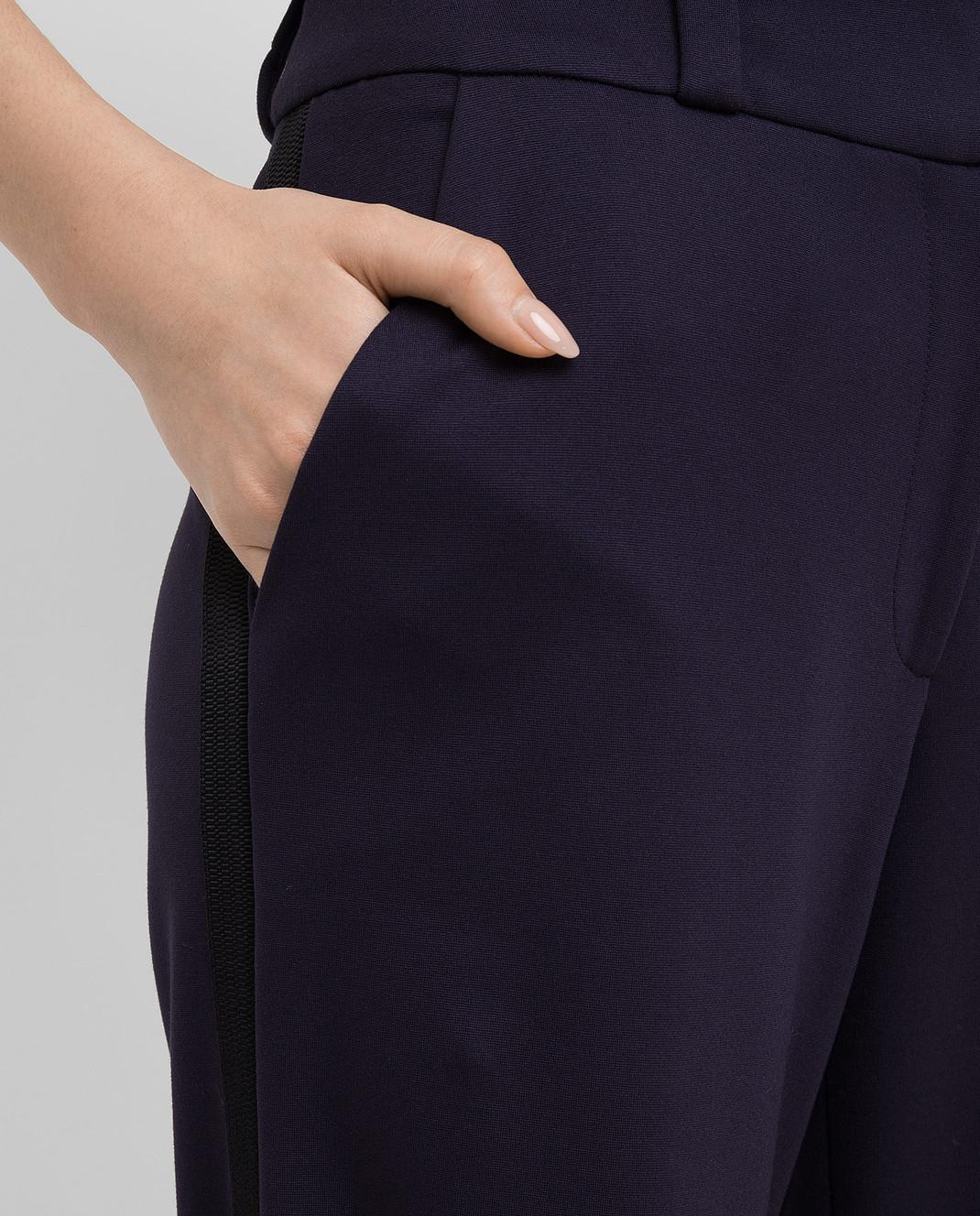 Maison Ullens Фиолетовые брюки PAN082 изображение 5