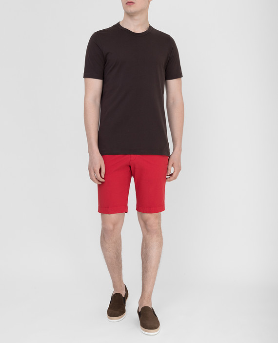 Красные шорты hover