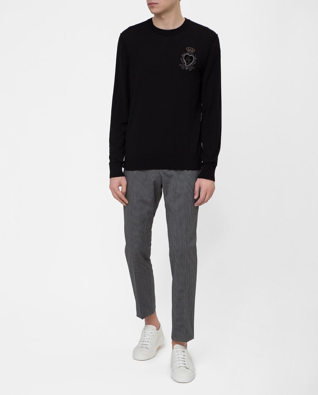 Dolce&Gabbana Серые брюки GYIJETFRCBQ изображение 2