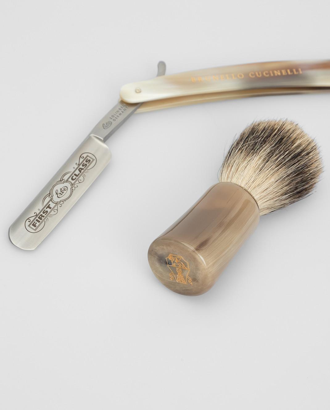 Brunello Cucinelli Мужской набор для бритья изображение 5