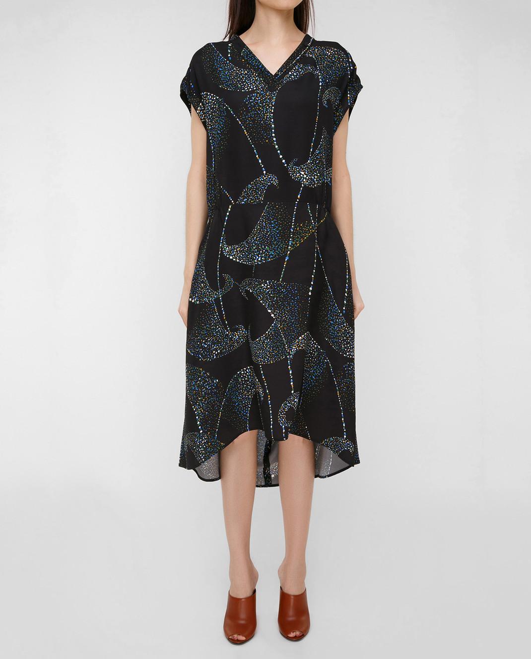 Balenciaga Черное платье 456946 изображение 3