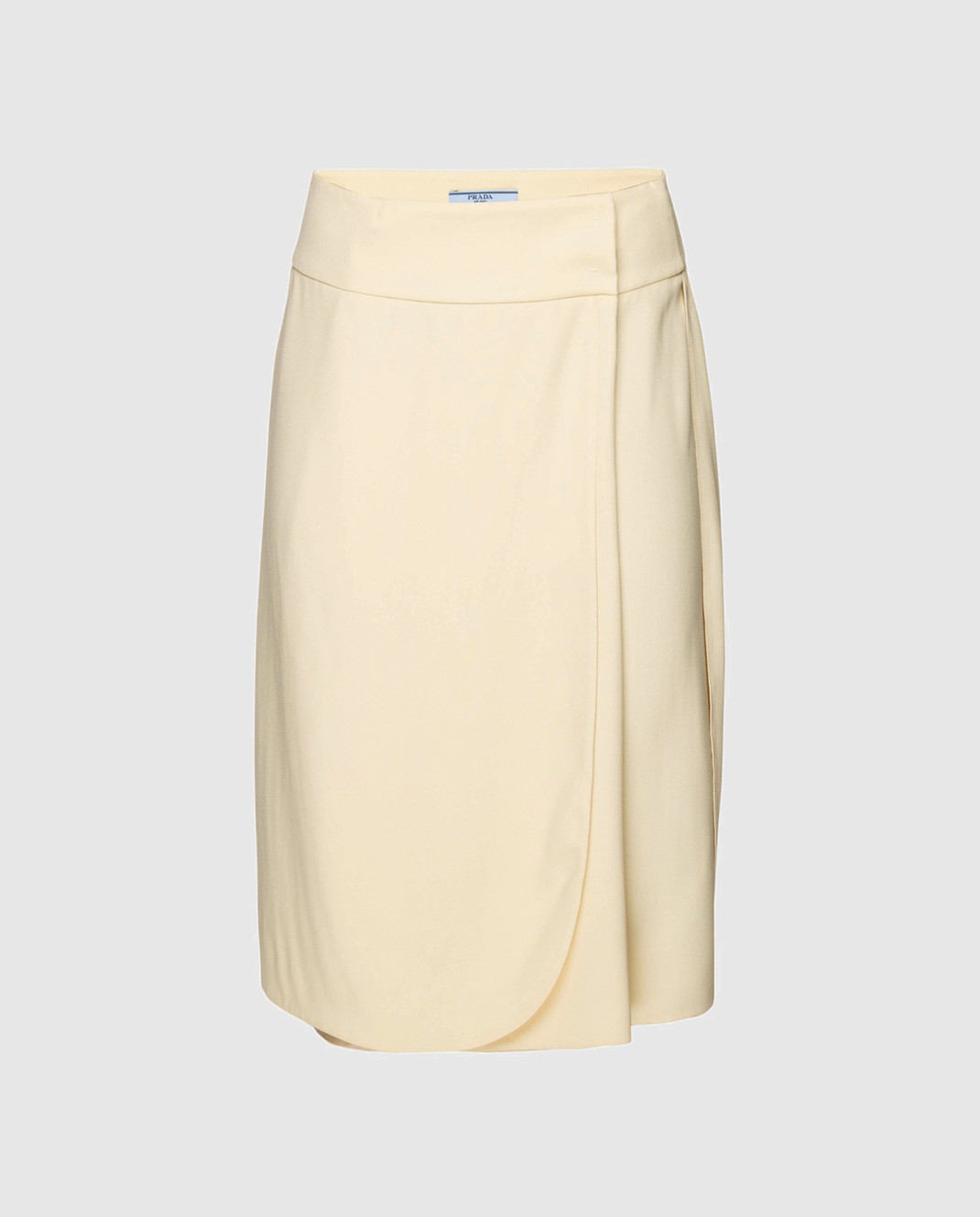 Prada Желтая юбка на запах изображение 1