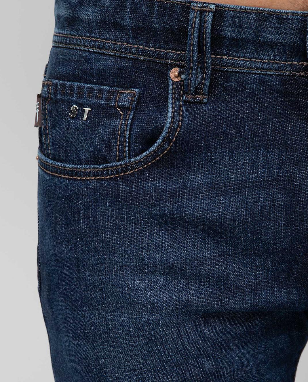 Tramarossa Темно-синие джинсы изображение 5