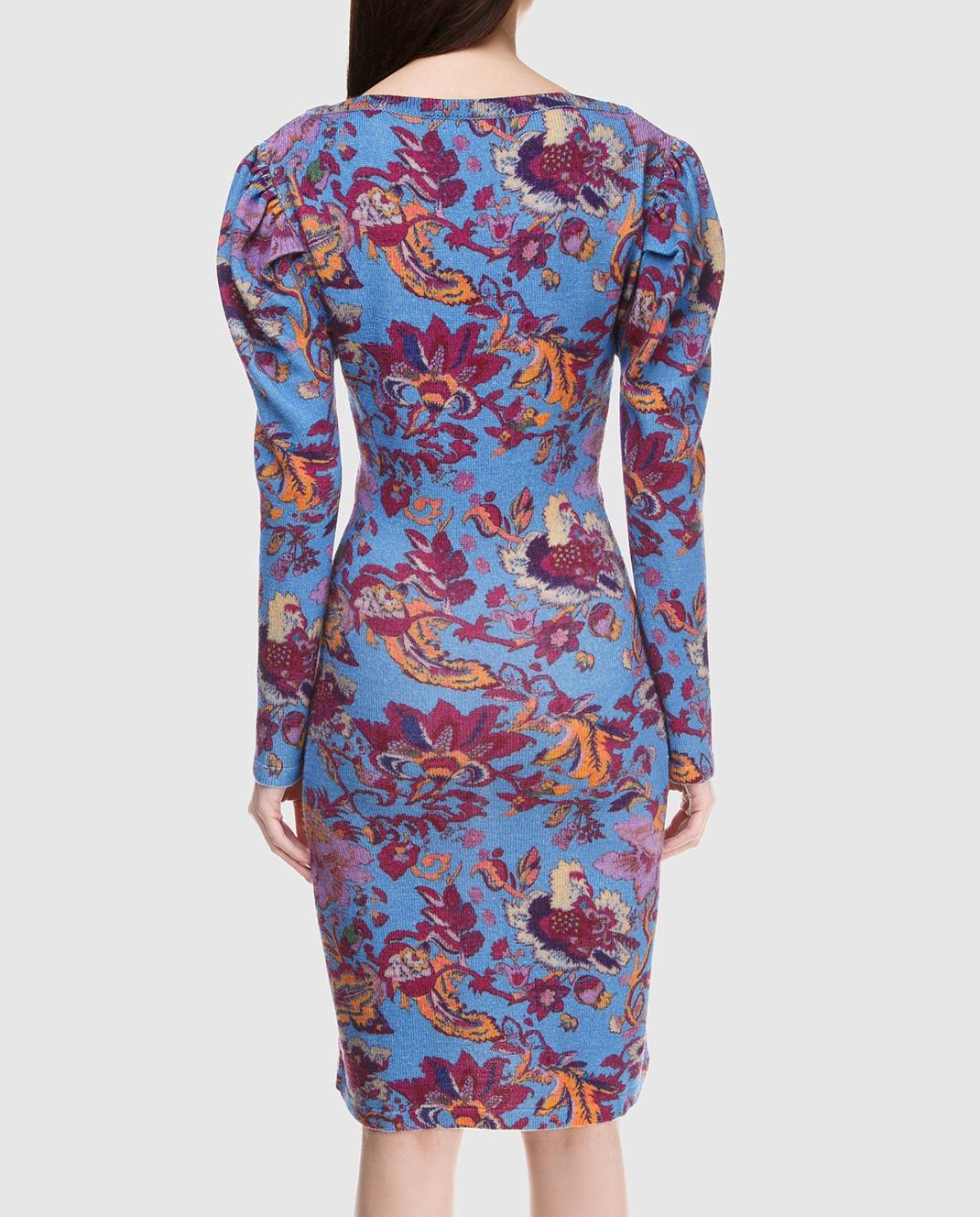 Etro Синее платье из шерсти D15673 изображение 4