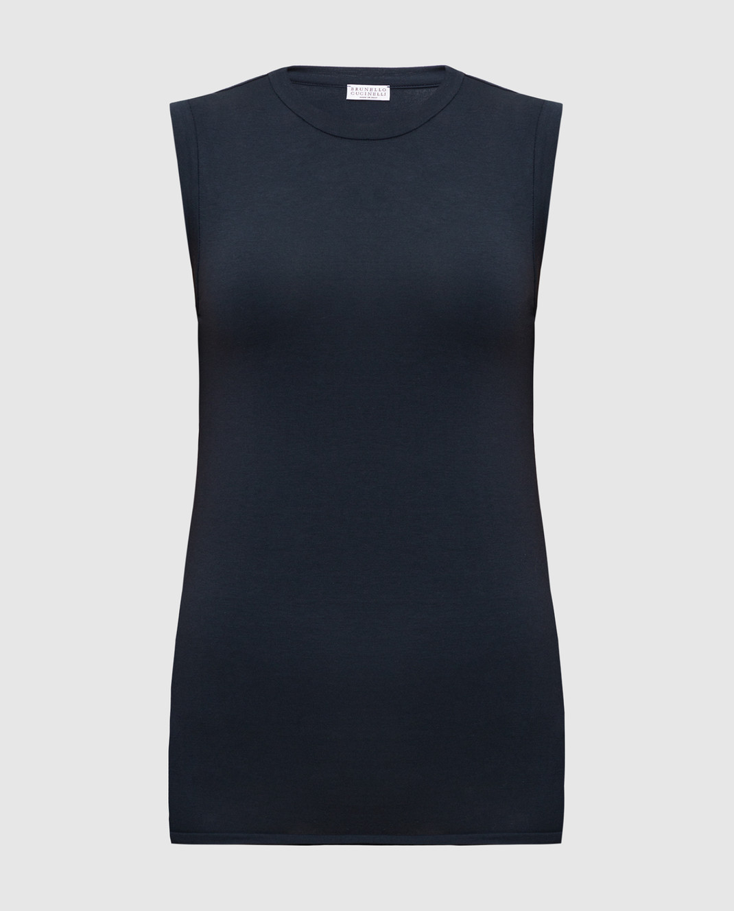 Brunello Cucinelli Темно-синий топ M0T18B0180