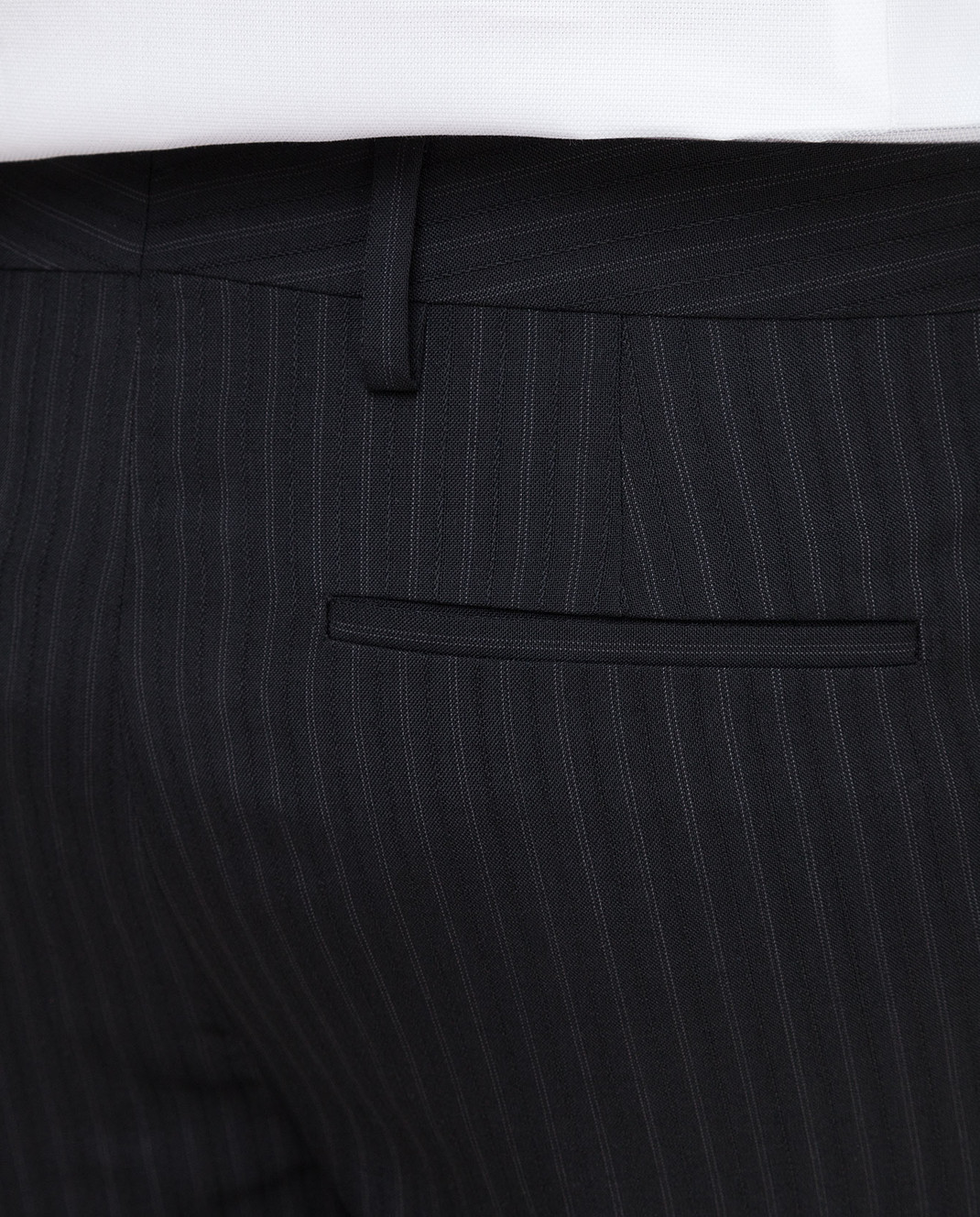 Saint Laurent Черные брюки 552560 изображение 5