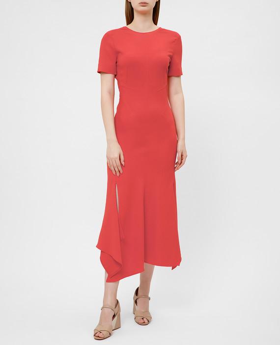 Красное платье hover