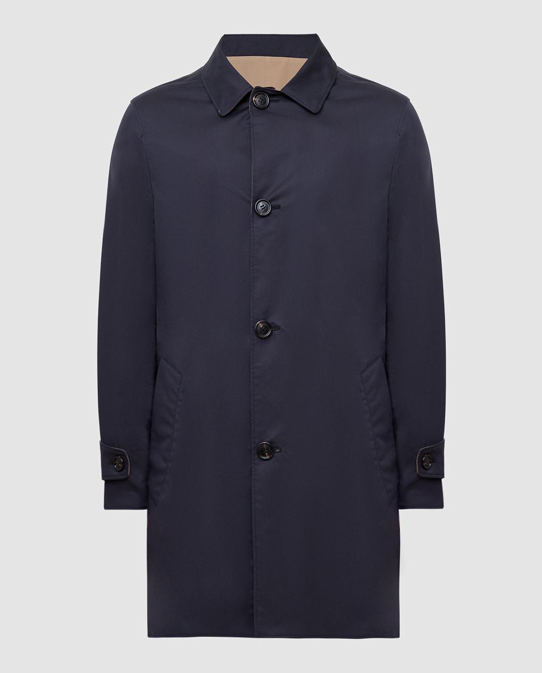 Brunello Cucinelli Двухстороннее пальто MD4506148