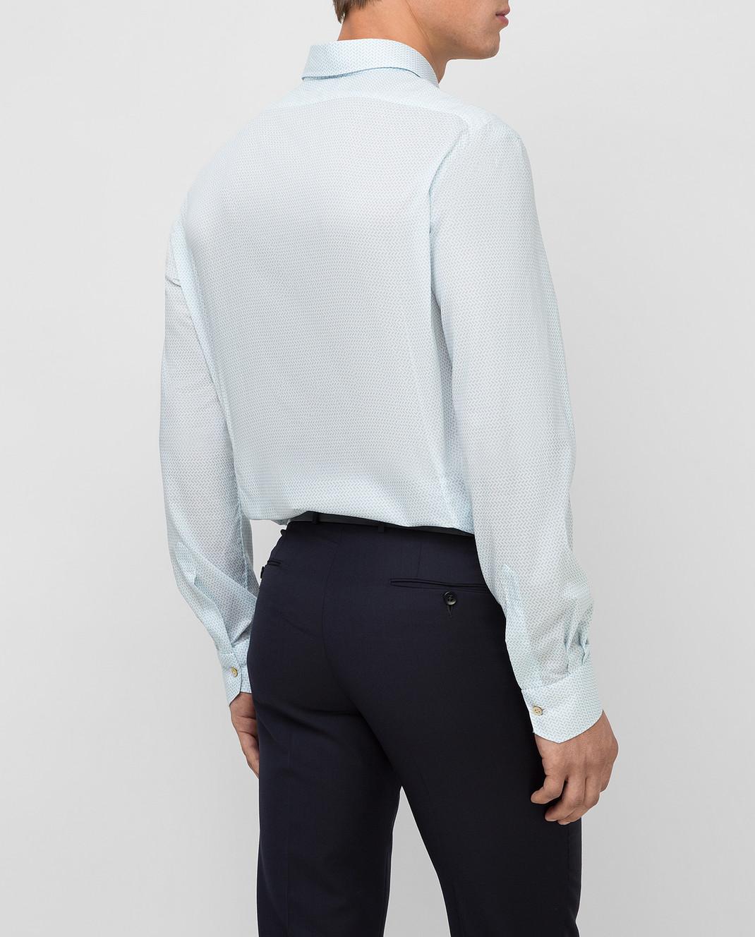 Kiton Белая рубашка изображение 4