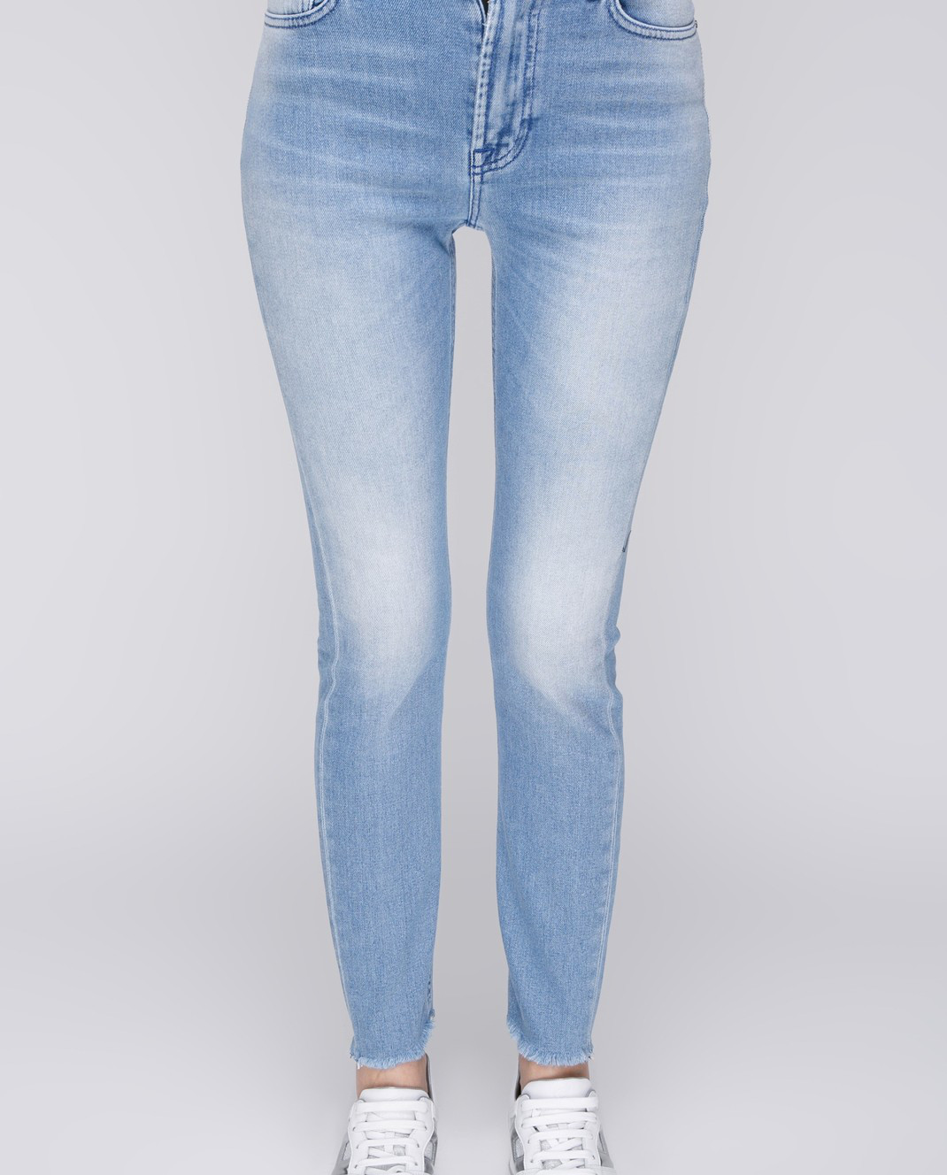 Mr&Mrs Italy Голубые джинсы JE040 изображение 3