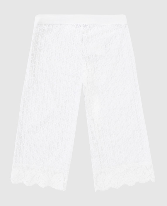 Детские белые брюки hover