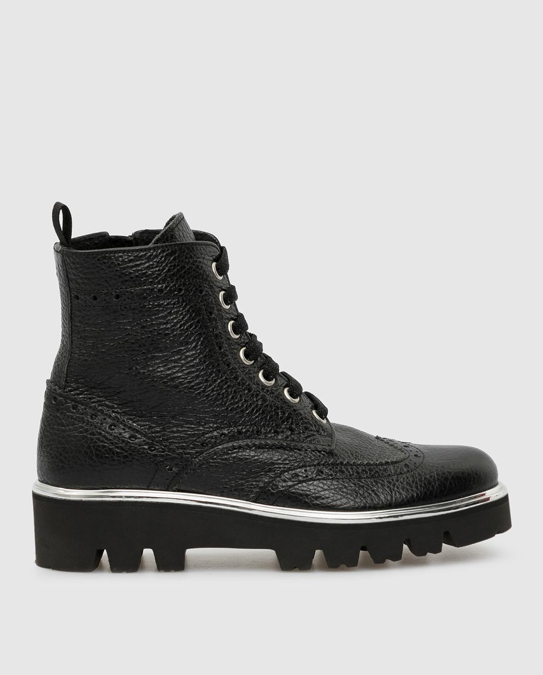 Zecchino D'oro Детские черный ботинки R0868013032