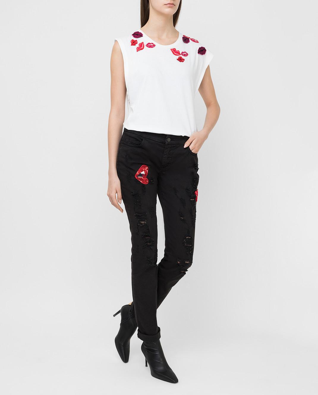 Giamba Черные джинсы изображение 2