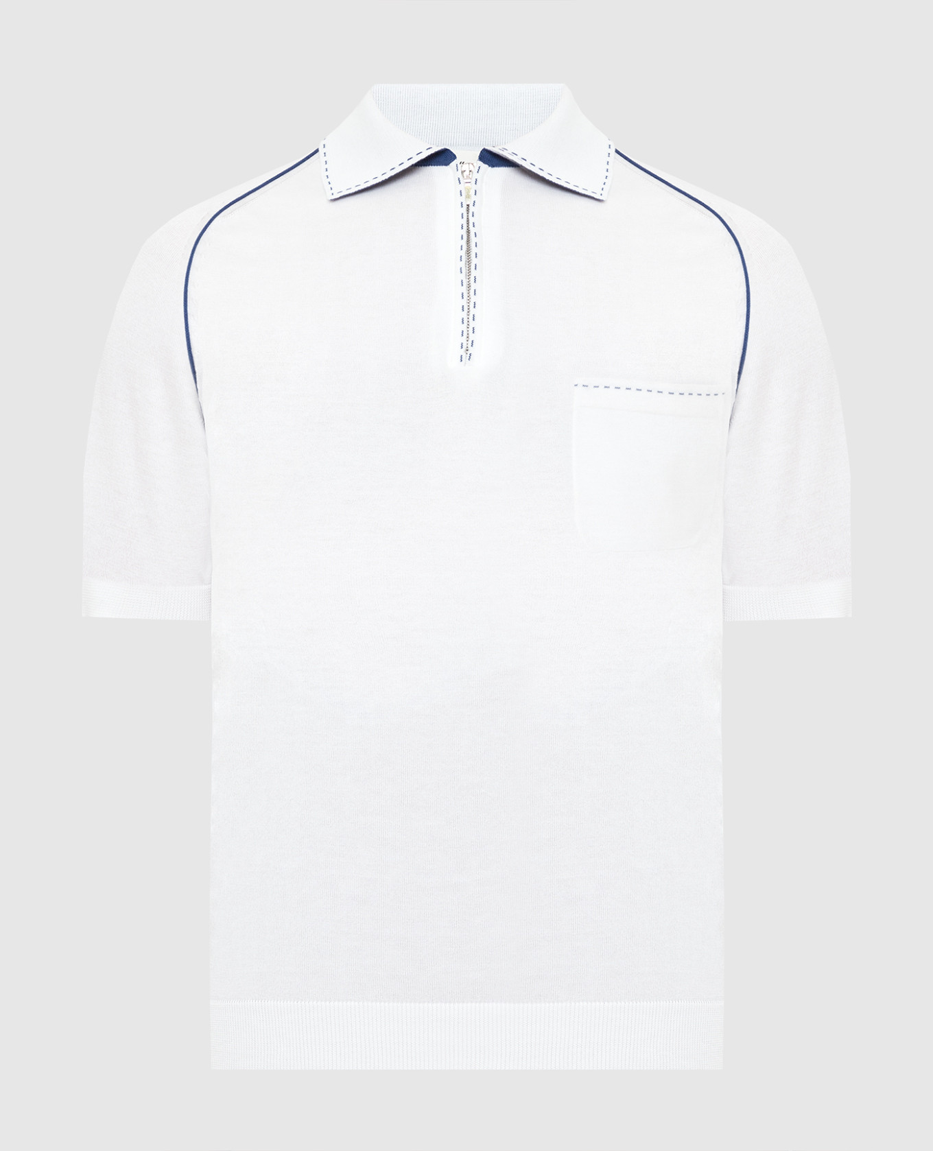 Белое поло