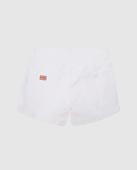 Детские белые шорты hover