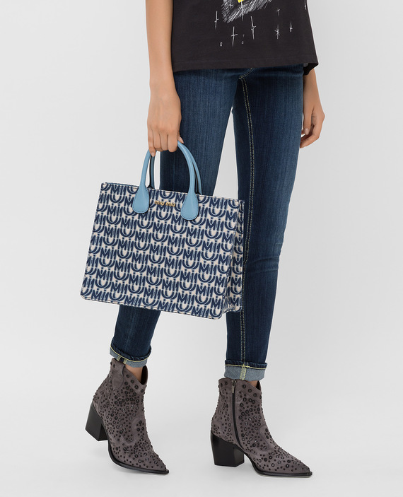Темно-синяя сумка hover